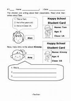 guided writing worksheets for grade 3 22911 guided writing esl worksheet by wongkityan