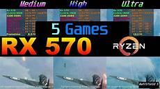 rx 570 test rx 570 4gb ryzen 5 2600x test in 5