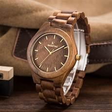montre en bois homme 2018 hommes top marque sentai design bois montres hommes