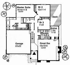 e plans ranch house plans ranch style house plan 3 beds 2 baths 1587 sq ft plan