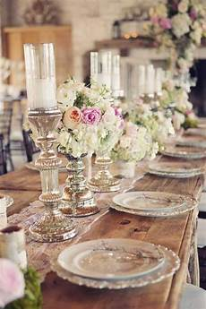 rustic wedding tables are taking this year