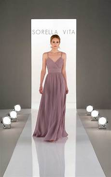 dream bridesmaid dress with ruched bodice sorella vita