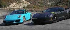 c7 corvette grand sport vs porsche 911 gm authority
