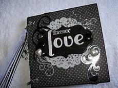 wedding scrapbook envelope mini album black and white