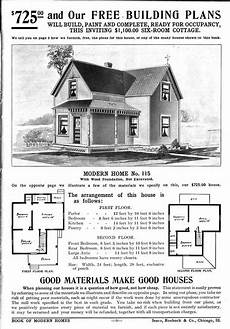 1900 sears house plans people used to order sears home kits from a catalog in