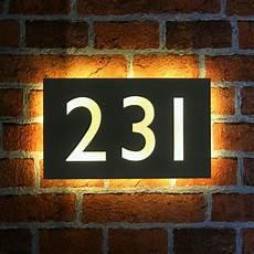 beleuchtete hausnummer led 37 best illuminated led house name plates images on