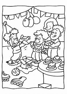 birthday coloring pages archives