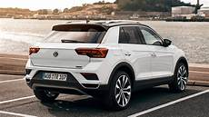 2018 Volkswagen T Roc Rear Side White Color Near Lake Park