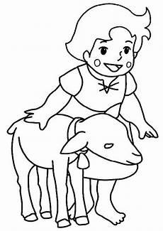 Gratis Malvorlagen Kinder Gratis Heidi 1 Ausmalbilder