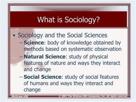 Is Sociology A Science