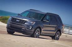 2016 ford explorer reviews and rating motor trend