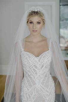 clarabel floral bridal tiara tania maras bespoke
