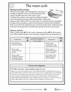 earth science water cycle worksheets 13266 kindergarten math worksheets and 3 more makes water cycle 4th grade science teaching weather