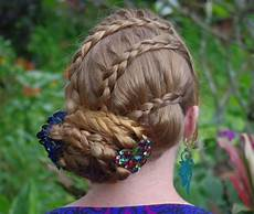 braids hairstyles for super hair updo with triple lace braids