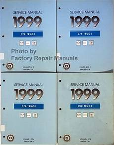 car repair manuals download 1999 gmc suburban 2500 on board diagnostic system 1999 chevy gmc c k truck suv shop service manual set 1500 2500 3500 suburban tahoe yukon