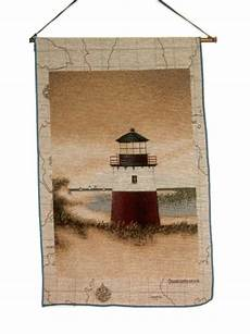 lighthouse tapestry wall decor out to sea
