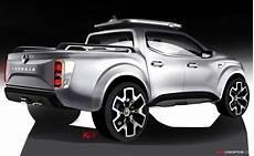 renault unveils alaskan pickup truck concept