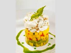 crab avocado mango stack_image
