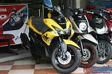 Modifikasi Aerox 155 Kuning by 93 Modifikasi Motor Aerox 155 Kuning Terbaik Dan Terupdate