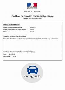 certificat de non comment obtenir un certificat de non gage pour une carte