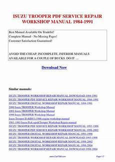 small engine repair manuals free download 1998 isuzu amigo seat position control isuzu trooper service repair workshop manual 1984 1991 by guang dong issuu