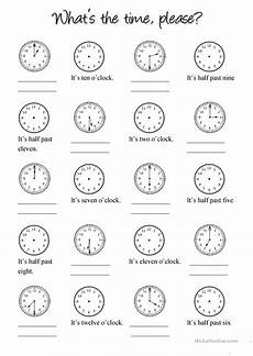 clock worksheet free esl printable worksheets made by teachers