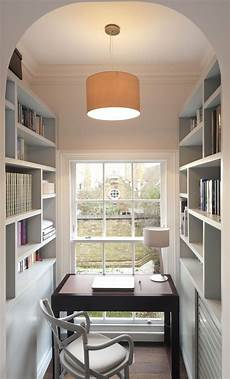 space saving home office furniture tight squeeze in this home office space bespoke bookcases