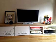 Upgrade Ikea Besta Tv Cabinet With A Beautiful Wooden