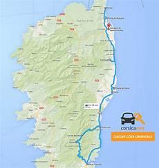 Circuit Voiture C 244 Te Orientale Et Porto Vecchio