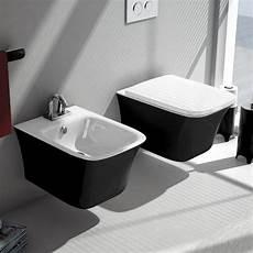 wc schwarz cow wand bidet und wand wc schwarz wei 223 klassische