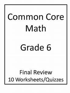 science review worksheets 6th grade 12383 6th grade common math by jeni teachers pay teachers