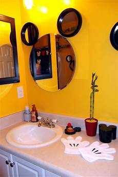 disney at mickey bathroom