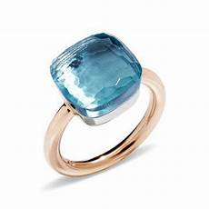 pomellato rings pomellato large blue topaz quot nudo quot ring betteridge