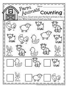 farm animals worksheets for preschool 14135 march preschool worksheets matem 225 ticas farm animals preschool preschool worksheets farm