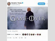 president trump latest tweets