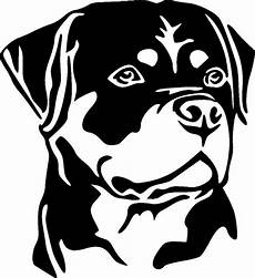 rottweiler k9 rottie vinyl decal sticker ebay