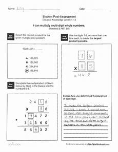 5 nbt 5 fluently multiply multi digit numbers math