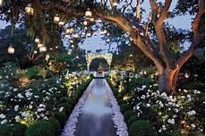 fairytales chandeliers enchanted garden wedding