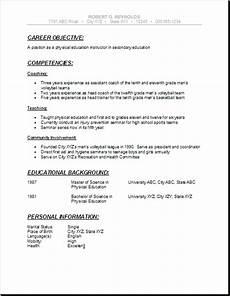 pin by jobresume on resume career termplate free high