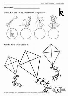 letter k printable worksheets 24404 preview