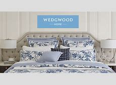 LUSCIOUS BEDROOM: My new Wedgwood bed linen