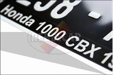 plaque moto 210x130 plaque moto siv quot carr 233 e quot 21x13 blanc siv