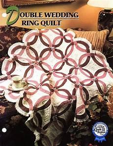 double wedding ring quilt afghan crochet pattern annies attic blanket afghans