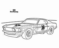 How To Draw Car Mustang Coloring Pages  Best Place Color