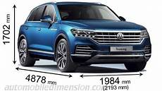 Volkswagen Touareg 2018 Dimensions Boot Space And Interior