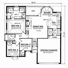 small european style house plans 1373 square foot house plan chp 13273 at coolhouseplans