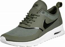 nike air max thea w shoes olive white