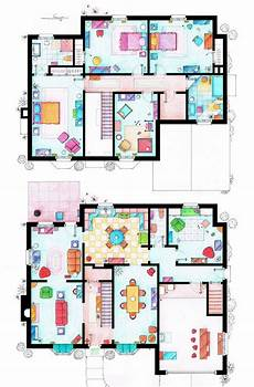sitcom house floor plans floor plans of your favourite tv shows tv show house