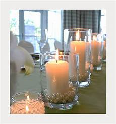 elegant diy pearl and candle centerpieces mon cheri bridals