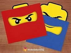 ninjago einladungskarten zum ausdrucken kindergeburtstag
